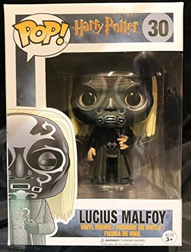 Funko Pop Lucius Malfoy con la máscara (Harry Potter 30) Funko Pop Harry Potter