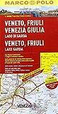 MARCO POLO Karte Venetien, Friaul 1:200.000 (MARCO POLO Karte 1:200000)