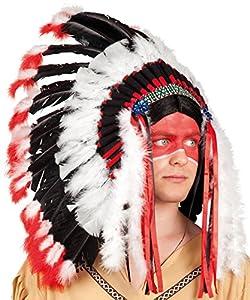 Indian headpiece adults (gorro/sombrero)