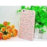 iPhone 4/4S Case,Celkase™, Slim Matte Bird Nest Hollow Radiating Macrons Candy Fresh Color