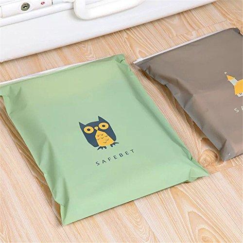 confronta il prezzo 8 sacchetti di immagazzinaggio della maglia di viaggio di PCS Travel Essentials Bags-in-Bag Organizzatori di bagagli Cubi di imballaggio Sacchetti di pattini Sacchetti di cosmetici sacchetto di toletta (stile: chiusura lampo) miglior prezzo