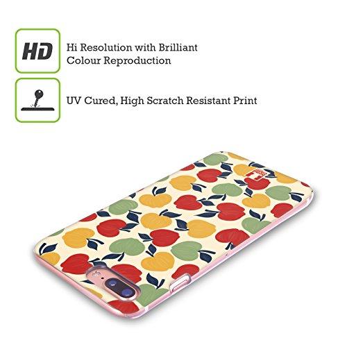 Head Case Designs Mirtillo Stampe Frutta Cover Retro Rigida per Apple iPhone X Mela