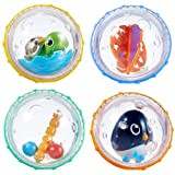 Munchkin Float and Play Bubbles Bath Toy, Pack of 4