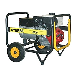 Ayerbe Generators Engine - Generator Movil AY5000 Honda Petrol Boot Manual
