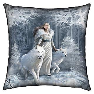Winter guardians anne stokes cushion