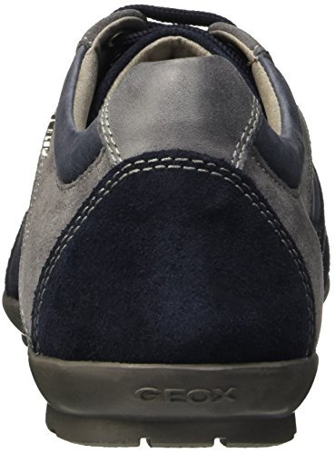 Herren Halbschuhe navy Uomo Schnürer U62a5a Symbol Herrenschuhe Leder Sneaker Geox Blu wIA7qpZ7