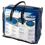 Intex Solarabdeckplane für Easy & Frame Pool, blau, Ø 488 cm