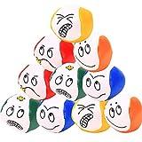 Liuer Palle da Giocoleria, 12PCS Regalo di Natale,Beginners Palle di Juggle Facili e morbide Principianti Set per Bambini Studenti e Adulti(Modello Emoji)