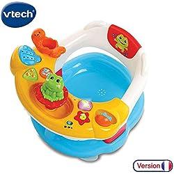 VTech- Super Siege 2 en 1 Baby Premier Age, Jouet DE Bain, 80-515405, Multicolore