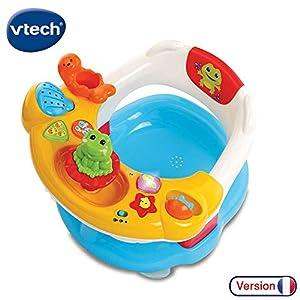 VTech Super Siege De Bain Interactif 2 en 1 - Juegos educativos, Niño/niña, 0,5 año(s), Francés, AA, 493 mm
