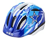 KED Fahrradhelm Meggy, Blue Stars, S/M, 16409119SM