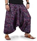 The Harem Studio Hombre Mujer Pantalones harem unisex bombachos ligeros, hippies, de algodón,...