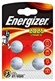 Energizer Batterie au lithium 3 V CR2025 (Lot de 4)