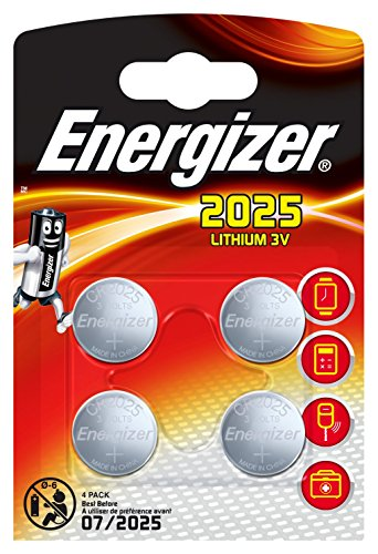 Energizer 2025 Battery - Pack of 4