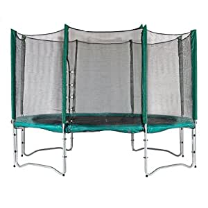 Premium Quality 13ft Sleeved Trampoline Net (for use with trampolines with 8 enclosure poles). Highly durable. DOES NOT INCLUDE TRAMPOLINE.