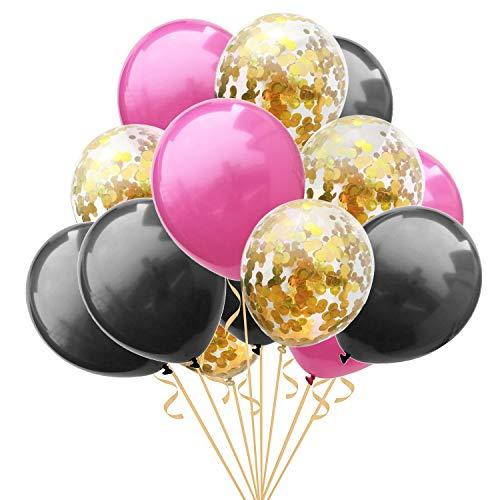 ZSQQSCL Jahr Weihnachten Ballons Konfetti Ballon Set Home Party Szene Festliche Atmosphäre Dekorative Luftballons, D