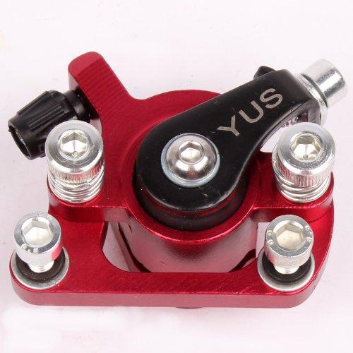 Mach1 Bremssattel Bremse Benzin oder Elektro E-Scooter/Bremsanlag Rot-Metallic