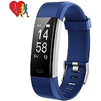Mpow Fitness Armbänder Aktivitätstracker,Herzfrequenzmonitor,Schlafmonitor,Schrittzähler mit 14 Trainingsmodi, 4 Uhrzeiger,GPS-Routenverfolgung,Alarme,Kameraaufnahme,USB Anschluss direkt Laden.