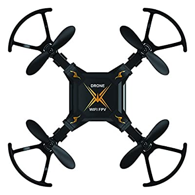 RC Drone, Powpro PP-127W Foldable RC Quadcopter 4 CHS Six Axis FPV RC Drone Wifi 0.3MP Remote Control Mini Porcket Drone