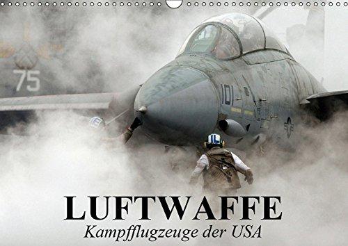 Luftwaffe. Kampfflugzeuge der USA (Wandkalender 2019 DIN A3 quer): Die Faszination der militärischen Flugzeugtechnik (Monatskalender, 14 Seiten ) (CALVENDO Technologie)