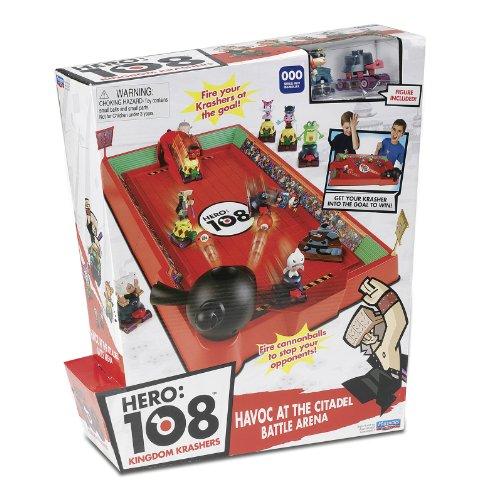 Giochi Preziosi 70230201 Hero 108 - Camp de Combat avec Figurine