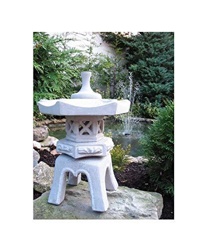 Yukimi japanische Steinlaterne - Asiatische Pagode