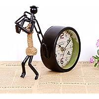KHSKX Il retro del ferro battuto singolo lato orologio, 21