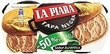 La Piara Paté de Hígado de Cerdo Tapa Negra - Pack de 2 x 73 g - Total: 146 g