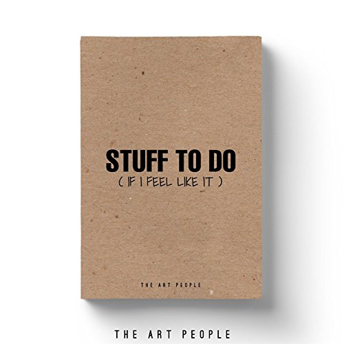 Stuff to do Notebook  Kraft  Diary  For Office & College Notes  Stationery ...