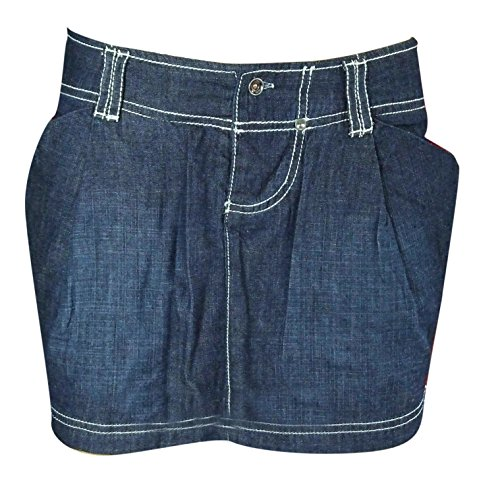 SCO New Womens Denim Mini Skirt Ladies Short