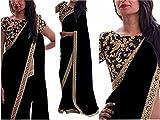 shoppvilla fashion women's georgette sar...
