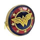 DC Comics, Wonder Woman Shield Coin Purse, Y1H410, Purse, Multi-colour, 10cm x 10c