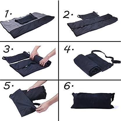 ThinkPet Multi-function Potable Waterproof Car Seat Protector Blanket for Pet,Best Choice for Outdoor Indoor Activities… 2