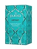PUKKA Bio Refresh Tee, 1er Pack (20 x 2,0 g Teebeutel) - BIO