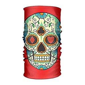 Walnut Cake Sturmhauben Mens Womens Headwear Sugar Skull Magic Tube Scarf Facemask Headbands Neck Bandana