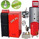 Caldera de pellets Pelling 25 ECO 225 Kg +Pellet+BAFA