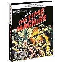 The Time Machine UK Premium Collection Blu-Ray + DVD + Digital HD + Ltd Ed Art Cards Region Free