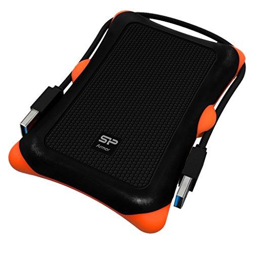 Silicon Power SP020TBPHDA30SK externe Festplatte 2TB (6,4 cm (2,5 Zoll), USB 3.0) schwarz/orange