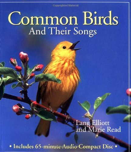 Common Birds and Their Songs (Book and Audio CD) by Elliott, Lang (1998) Paperback