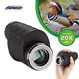Aomekie Zoom cannocchiale 8-20x 25ottica HD Dual Focus palmare portatile monoculare per adulti Birdwatching