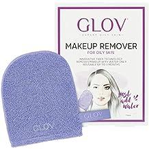GLOV Expert Piel Grasa, Desmaquillante Facial, Limpiador Facial solo con Agua, Paño Demaquillante
