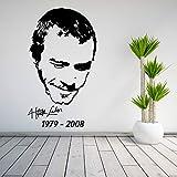 HNXDP per parete per scarico fumi per piastrella Adesivo De Parede Adesivi murali Adesivo murale stella personaggio Verde 80 x 47 cm