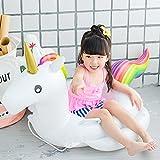 Z&W SHOP Bebé unicornio piscina inflable piscina flotante agua juguete niño asiento de baño para niños