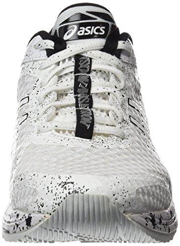 Asics Gel-Noosa Tri 11, Chaussures de Running Entrainement Homme, Blanc Multicolore (White/white/black)