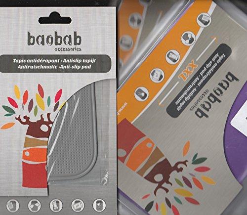 """Preisvergleich Produktbild '2Teppich Lila Antirutschbeschichtung XXL + 1Small grau für Gehäuse, fixer Festplatte, Multi USB, Verschiedenes Zubehör auf der Turm ohne Risiko Verrutschen, Marke """"Baobab Accessories hochwertige ausgestattet)."""