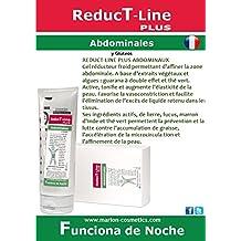 Gel Anticelulítico Reductor REDUCTLINE Plus Abdominales, a base de Extractos Naturales Vegetales y Algas; Hiedra, Fucus, Castaño de indias, Guaranina. Todo Tipo de Piel. 200 ml .