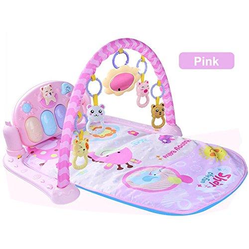 Baby Play Musical Mat Bebé pie Piano Música Alfombra de juegos 3 en
