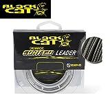 Black Cat Ø1,00mm Rubber Coated Leader 20m 100kg,220lbs grau, 1,00 mm