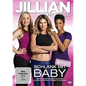 Jillian Michaels - Schlank mit Baby [Edizione: Germania]