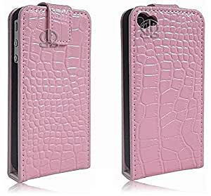 iPHONE 4S and 4 Mobiles Girls Pink Gradient Ultra Thin Back Case Covering inc 2 x FREE LCD Screen Protector